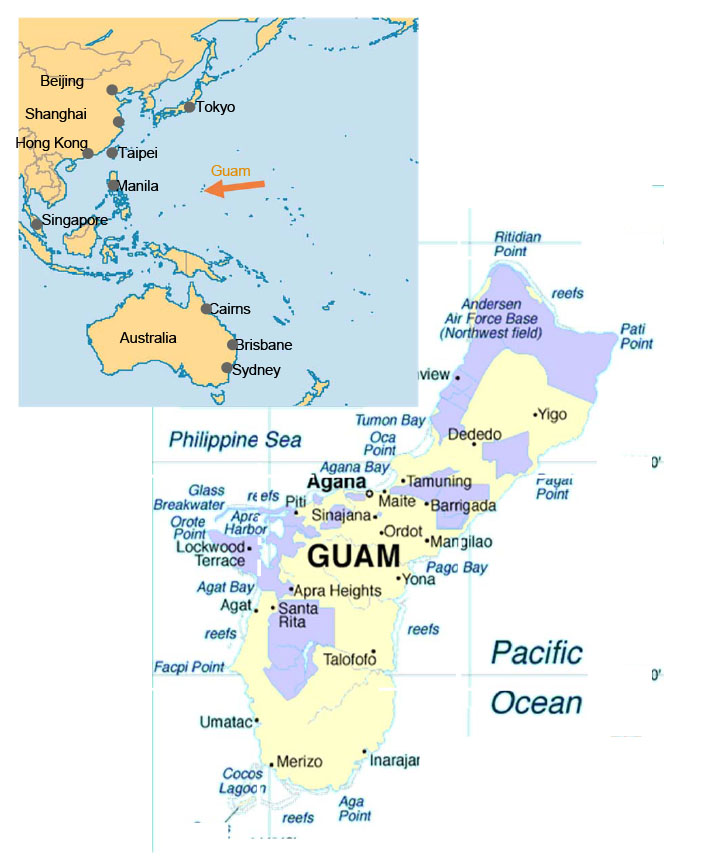 us and guam relationship